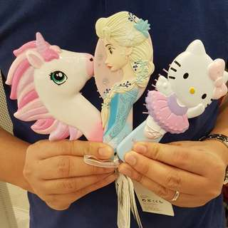 H&M Hair Brush Edition - My Little Pony, Hello Kitty & Frozen