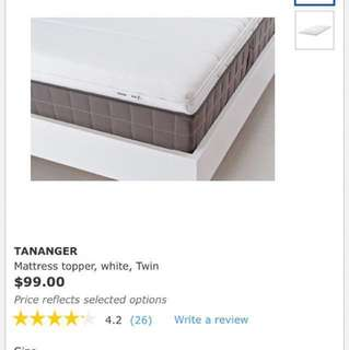 IKEA mattress foam topper