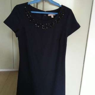 Banana Republic Navy Blue Dress