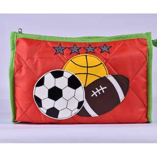 Kids Pouches - 3 compartments Theme - Red Star Sports