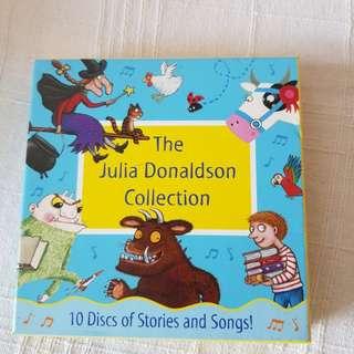 Julia Donaldson audio books set- collectors edition