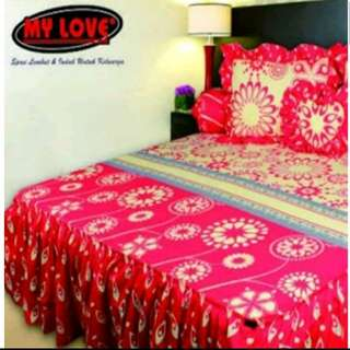 Sprei My Love Ukuran 120x200