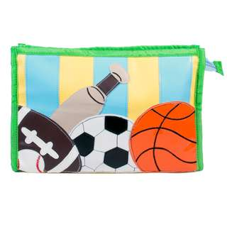 Kids Pouches with 3 compartments - Theme Sports in PU material