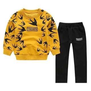Kids Match Set Sweatshirt with Pants