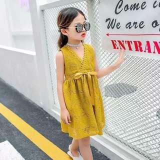 Chiffon Dress for kids