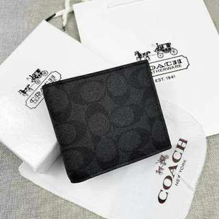 Offer!!!Coach mens Wallet(freepostage)