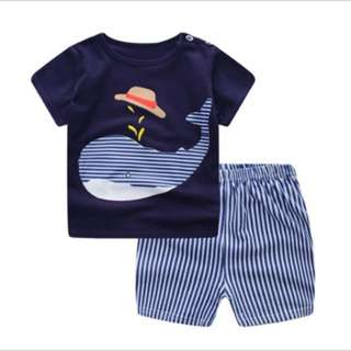 Baby Boy Clothes Summer 2 set + pant