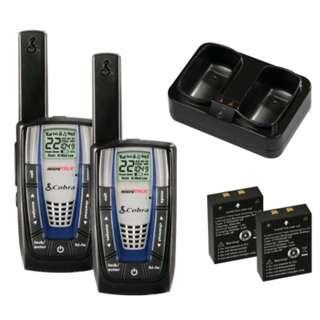 cobra walkie talkie 48km