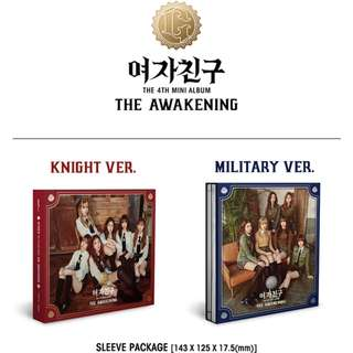 Gfriend The awakening album knight/military ver