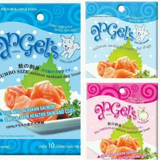 [GROUP BUY] Pet Treats Pet Angel's Salmon Sashimi Treats for Dog and Cats ...