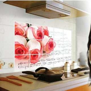 Stiker dapur