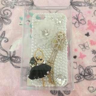 iPhone 4 Paris ballerina phone case