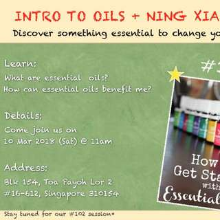 Young Living Workshop for Mummies