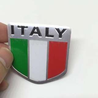 Stiker mobil logo bendera negara