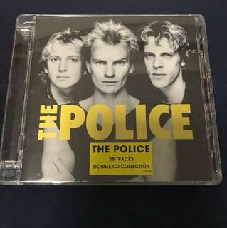 THE POLICE 28 TRACKS DOUBLE CD COLLECTION 2 CD