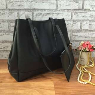Zara shopper bag