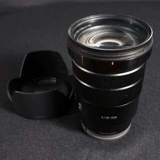 Sony E PZ 18-105 F4 G OSS Lens