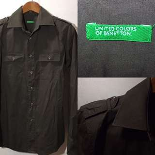 United Colors of Benetton Brown Long Sleeves