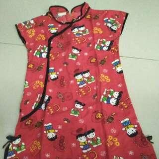 Dress Cheongsam Anak