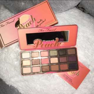 "TOO FACED ""THE PEACH PALLETE"""