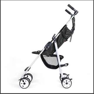 Black ultra light and compact stroller BNIB