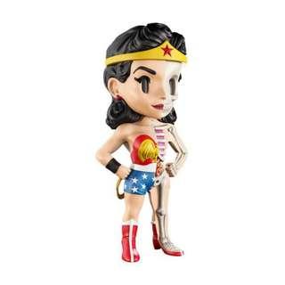 """Jason Freeny's XXRAY Dissected 4"""" Vinyl DC Comics Golden Age Wonder Woman"""