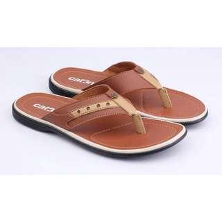 Sandal pria kulit sintetis catenzo