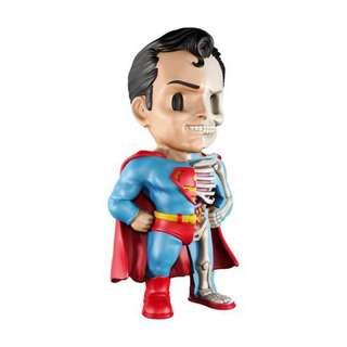 "Jason Freeny's XXRAY Dissected 4"" Vinyl DC Comics Golden Age Superman Figure"