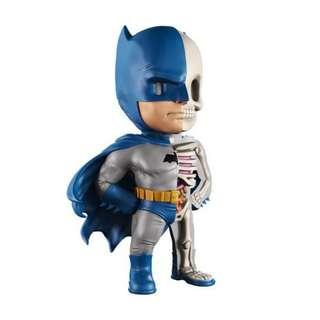 """Jason Freeny's XXRAY Dissected 4"""" Vinyl DC Comics Golden Age Batman"""