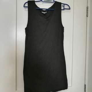 Valley Girl Grey Bodycon Dress (from Australia)