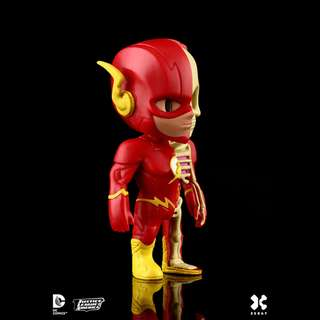 "Jason Freeny's Mighty Jaxx XXRAY DC Comics Vinyl 4"" The Flash"