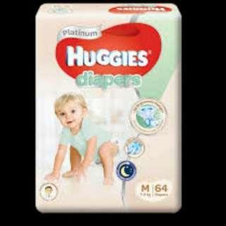 Huggies Diapers size M