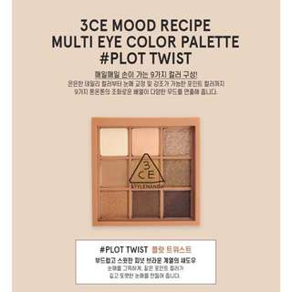 READY STOCKS | Stylenanda 3CE Mood Recipe Multi Eye Color Palette - Plot Twist