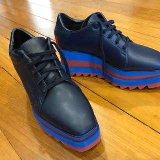 Authentic Stella McCartney Sneak-Elyse platform shoes