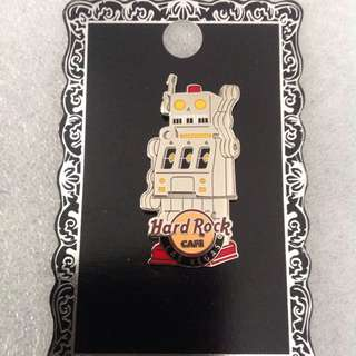 Hard Rock Cafe Pins - LAS VEGAS HOT 2013 ROBOT SLOT MACHINE SERIES #1!