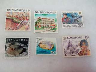 Singapore Stamps #6