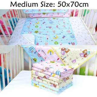 ❤ On-hand: 50x70cm Waterproof Cotton Baby Diaper Changing Pad