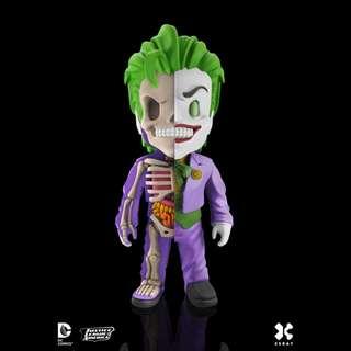 "Jason Freeny's Mighty Jaxx XXRAY DC Comics Vinyl 4"" Joker"