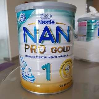 Nan pro gold 1 brand new