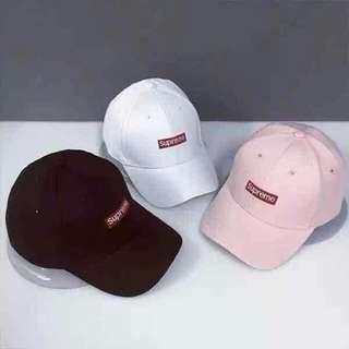 Supreme Embroidery Solid Color Baseball Cap Hats For Men Women Casual Hip Hop Caps