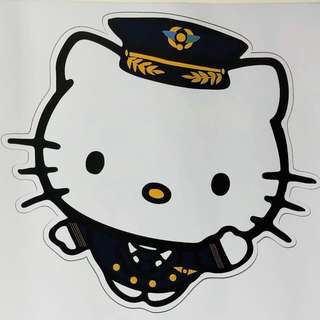 Hello Kitty 15cm sticker