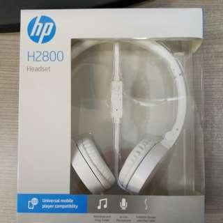 Brand New HP Headset (model: H2800)