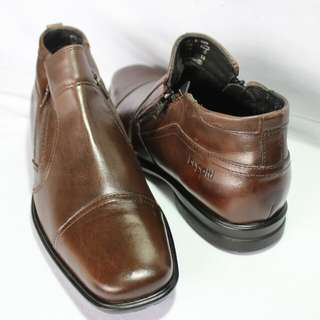 Bugatti mens leather shoes