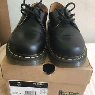 Doc Martin 3 Eye Smooth Shoes