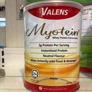 Valens Myotein Whey Protein Concentrate