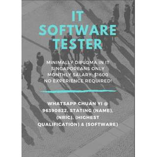 IT Software Tester (Central)