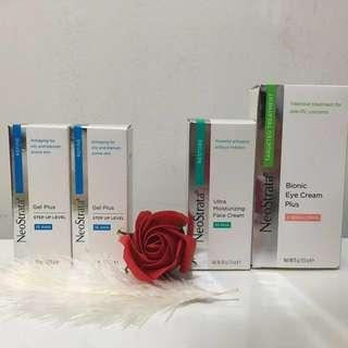 NeoStrata Gel plus/face cream/eye cream plus