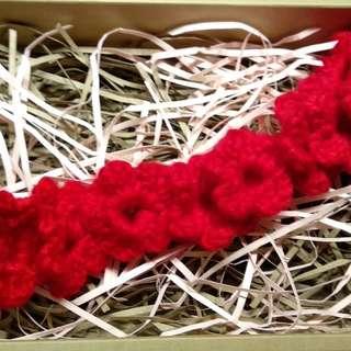 Handmade crochet headband  婴兒/小童手織毛冷頭帶