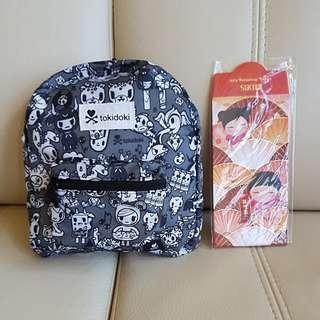 Tokidoki foldable backpack