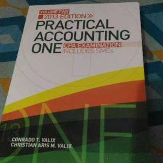 Practical Accounting by Valix Vol. 2 (2013)